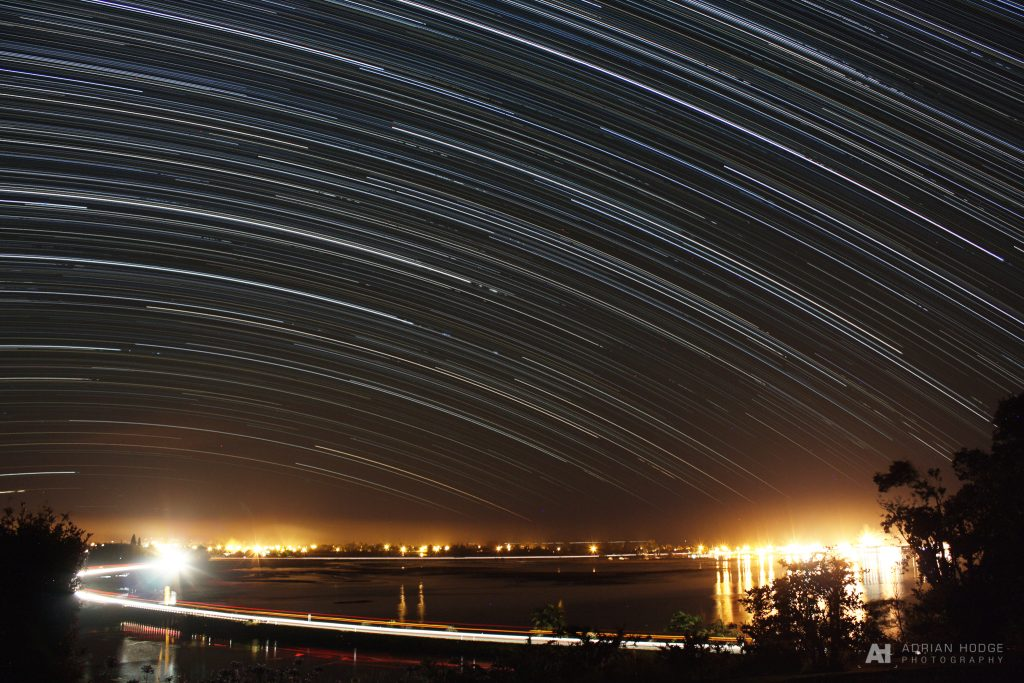 Motueka star trail #2