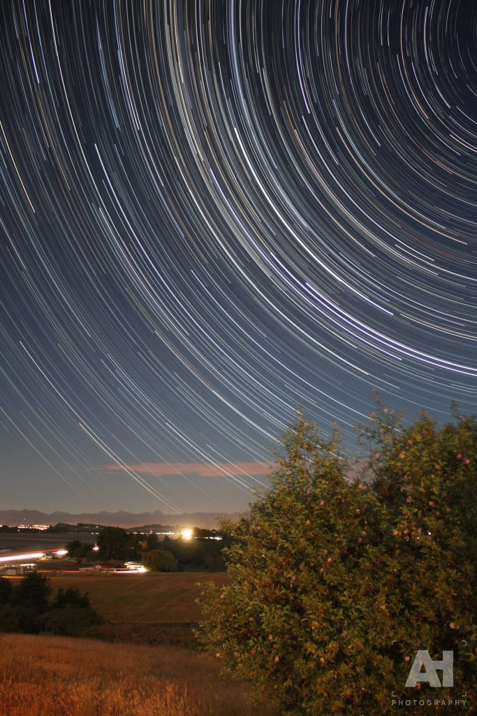 Motueka star trail