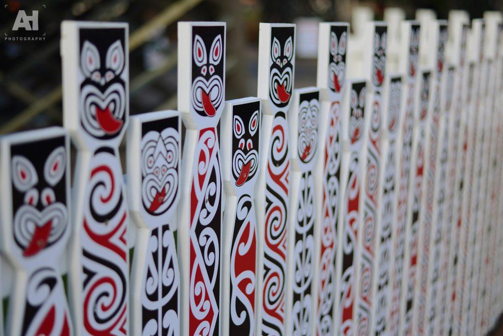 Maori picket fence