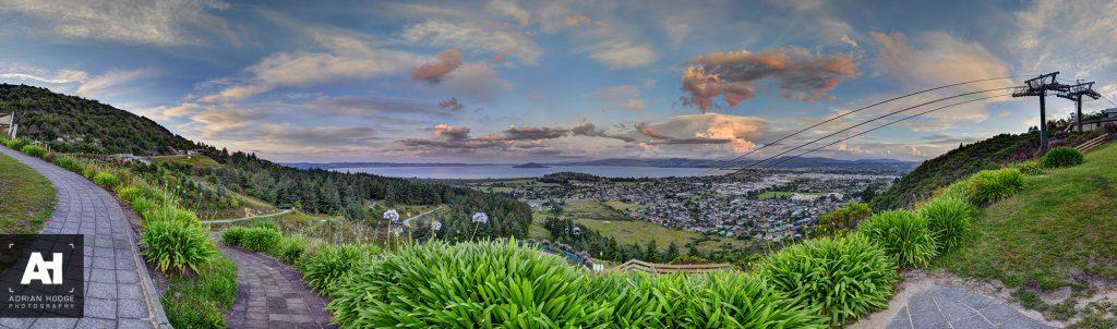 Skyline Rotorua Sunset