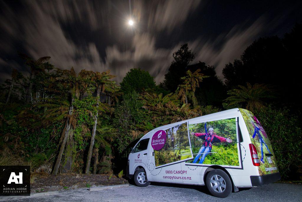 Rotorua Canopy Tours – Night Tours
