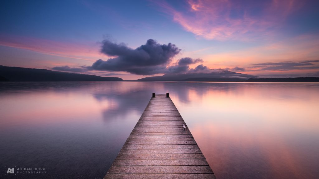 Tarawera Jetty twilight sunrise