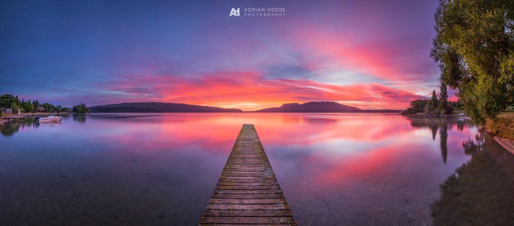 Tarawera Twilight