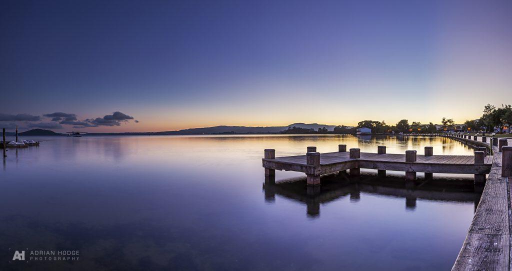 Blue Lake Glow
