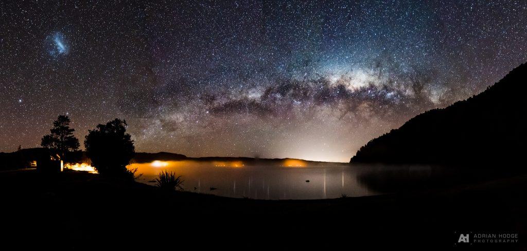 Rotoiti Milky Way