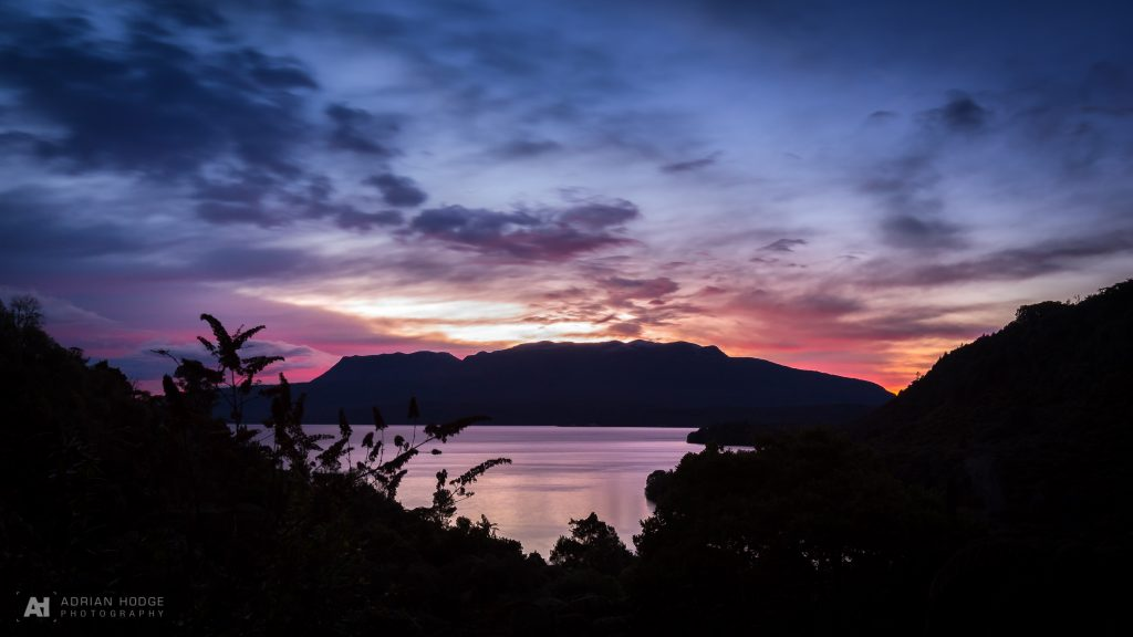 Tarawera Roadside Sunrise