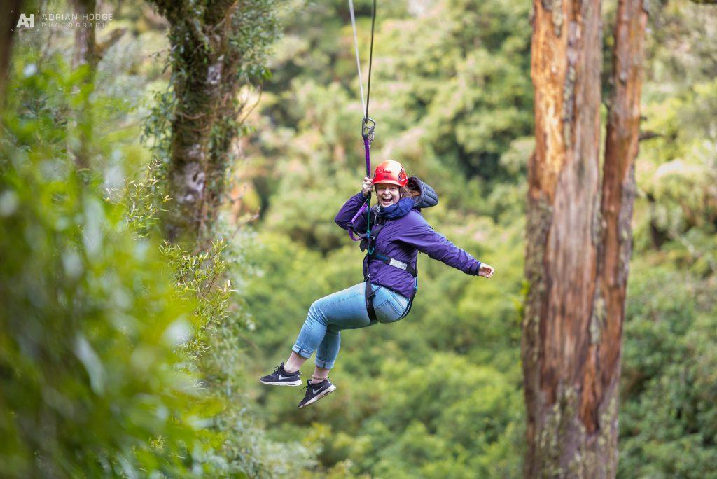 Zipline at Rotorua Canopy Tours