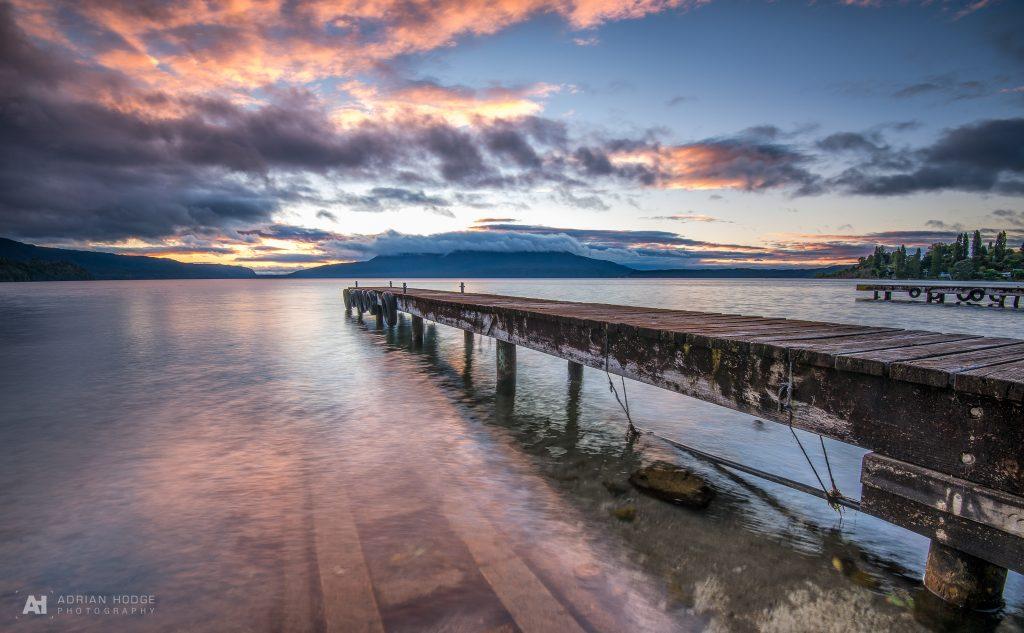 Clouded Tarawera