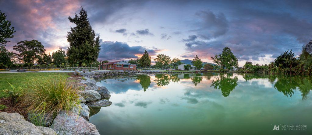Kuirau Park Geothermal Pond