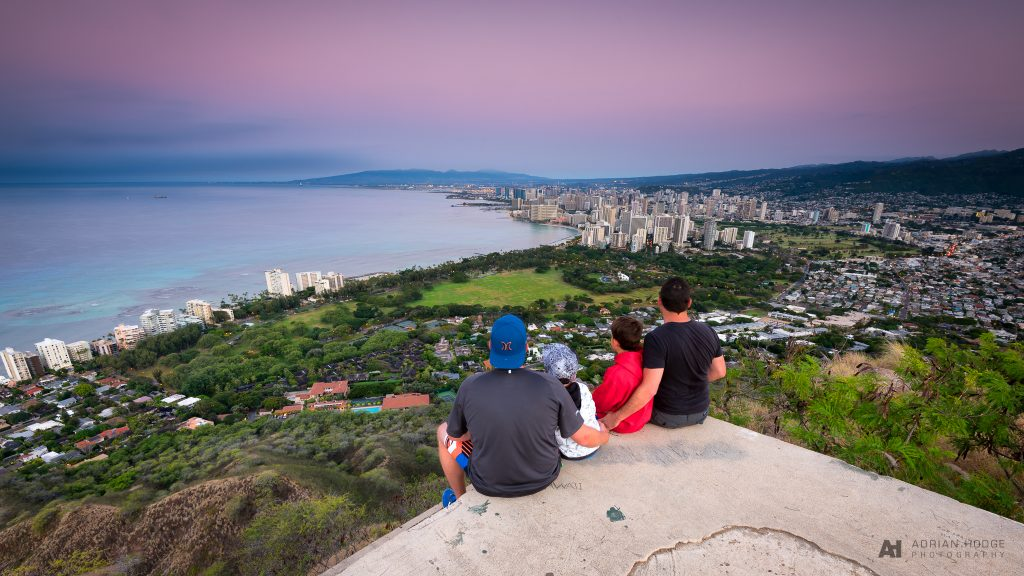 Diamond Head Crater Summit Sunrise