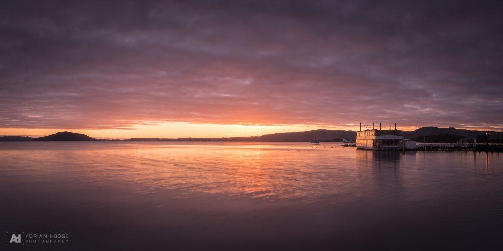 Rotorua Dawn