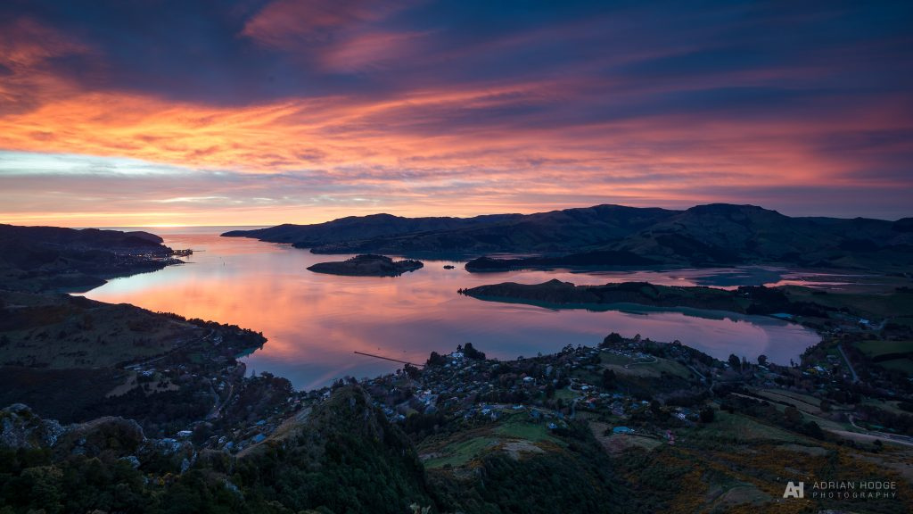 Lyttelton Harbour Sunrise