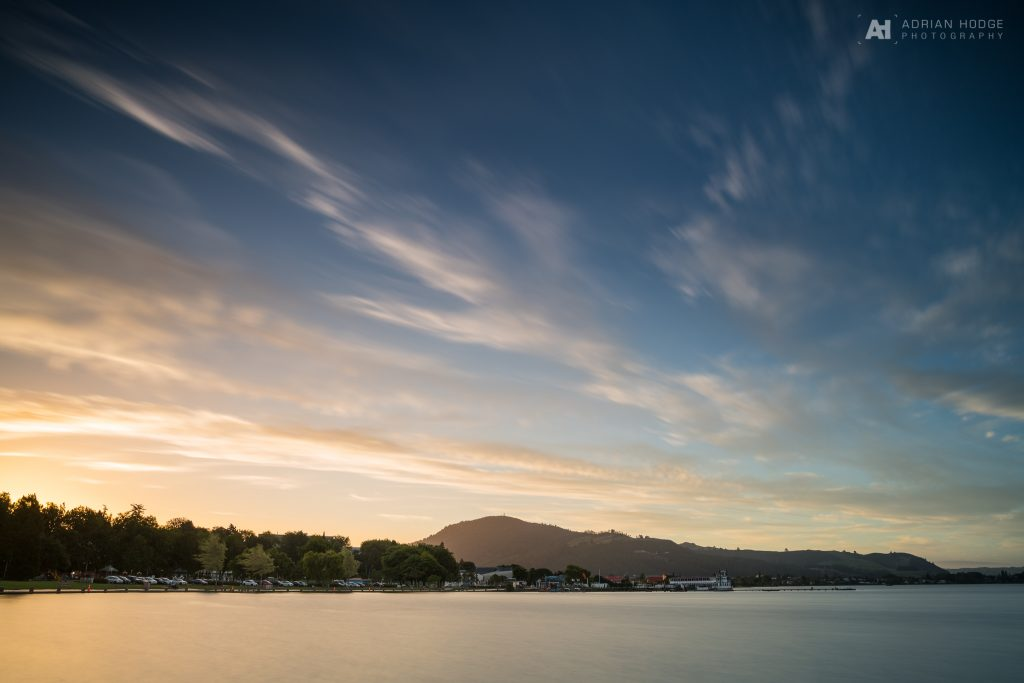 Rotorua Lakefront Sunset