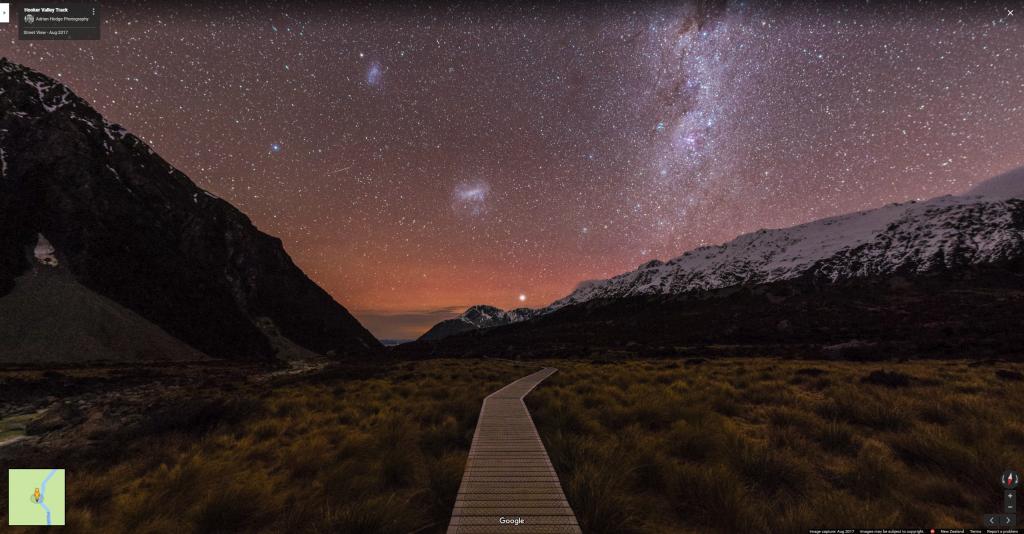 Hooker Valley Track 360° Astrosphere