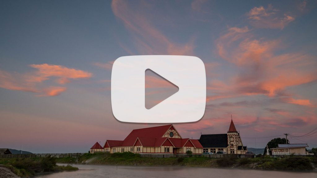 Ohinemutu Sunset Timelapse – 4K
