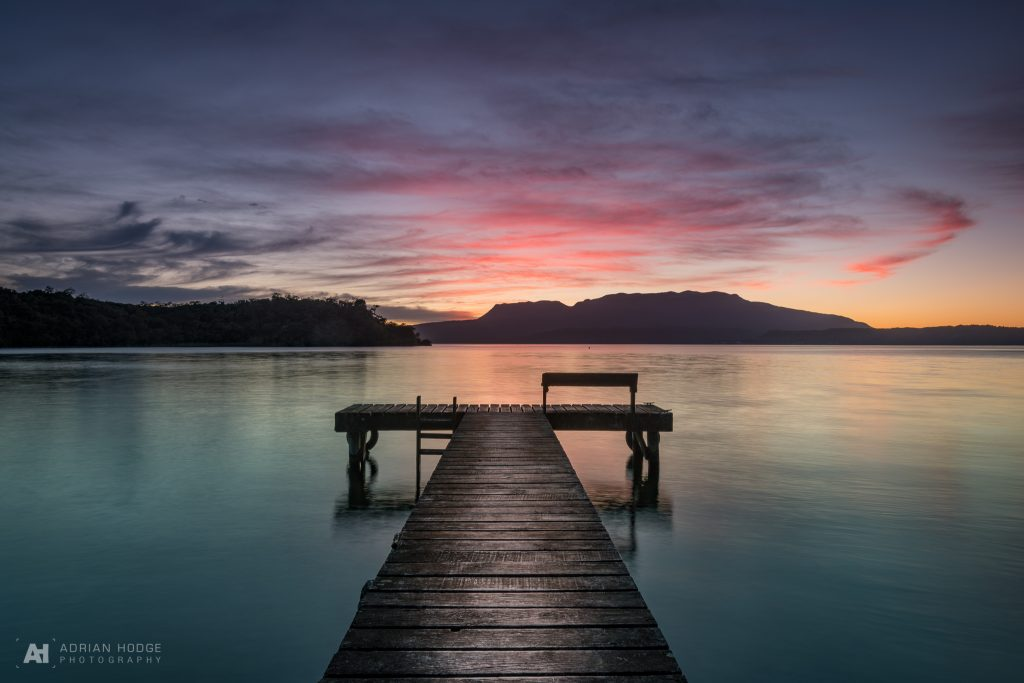 Tarawera Jetty Sunrise