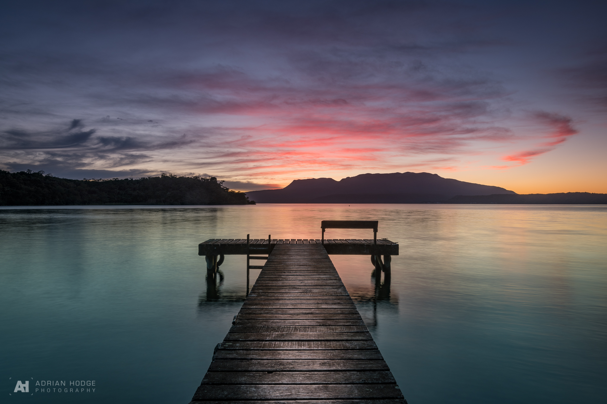 Lake Tarawera Jetty Sunrise