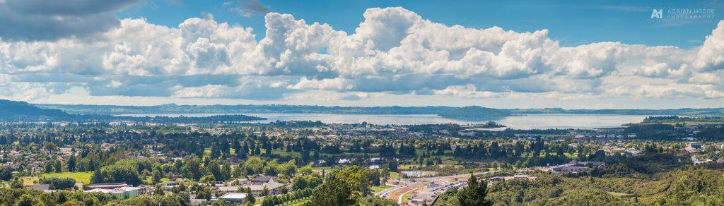 Rotorua Summer Panorama
