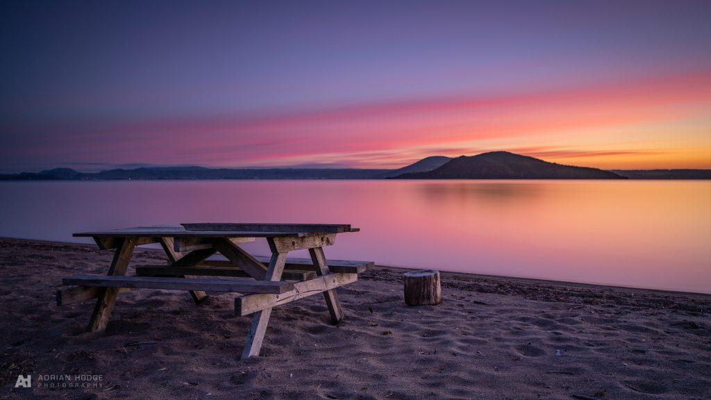 Mokoia Sunset