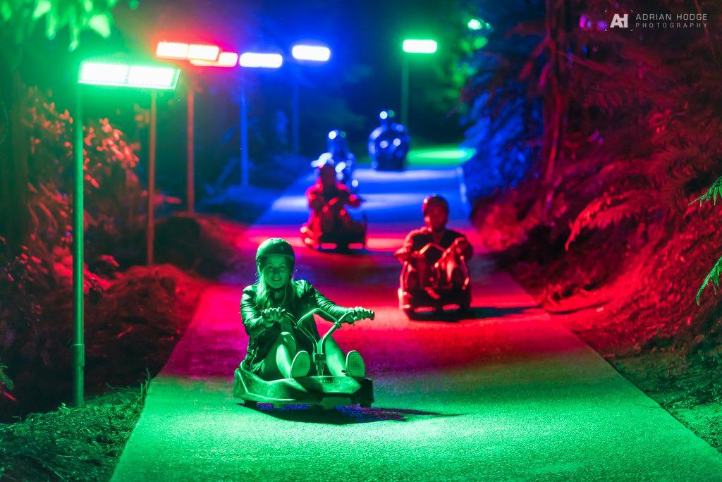 Skyline Rotorua – Night Luge